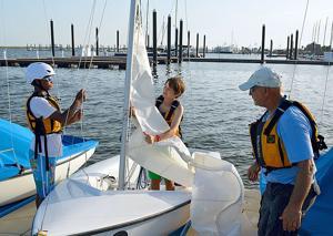 Sea Scout Base Galveston inaugurates  summer camp program on Offatts Bayou
