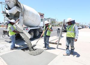 Galveston seawall sidewalk project finished under budget