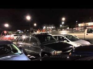 Coast Guard Emergency Landing Target Parking Lot Kemah Texas
