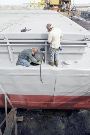 Business picking up at repair yards