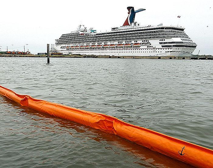 Carnival Triumph docked in Galveston