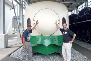 Bullet train engine