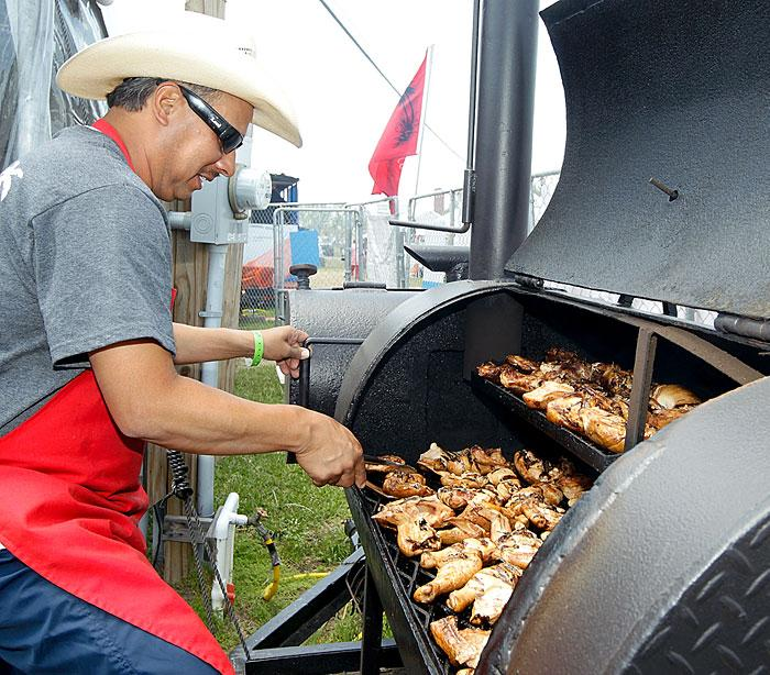 Barbecue cook-off a tasty tradition