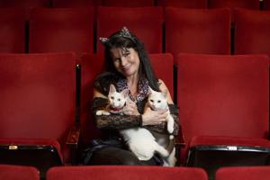 White kittens star in unusual circus
