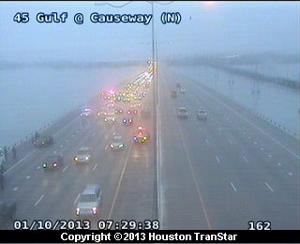 Accident slows morning commute across Causeway
