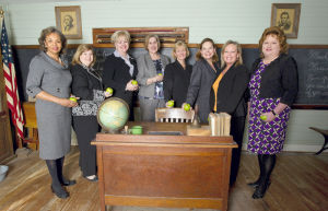<p>Ten women serve prominent leadership roles in the education system of Galveston County, including Patricia Williams, superintendent and principal of Ambassador's Preparatory Academy; Barbara Derrick, superintendent of Hitchcock ISD; Trish Hanks, superintendent of Friendswood ISD; Vicki Mims, superintendent of Dickinson ISD; Leigh Wall, superintendent of Santa Fe ISD; Beth Lewis, president of College of the Mainland; Cynthia Lusignolo, superintendent of Texas City ISD; and D'Ann Vonderau, superintendent of High Island ISD.</p>