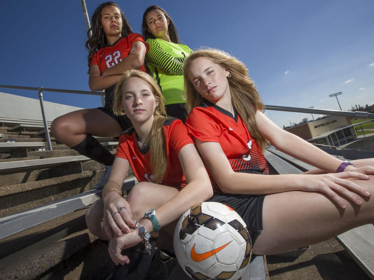 Having two sets of twins on team creates unique situation for Texas City girls soccer