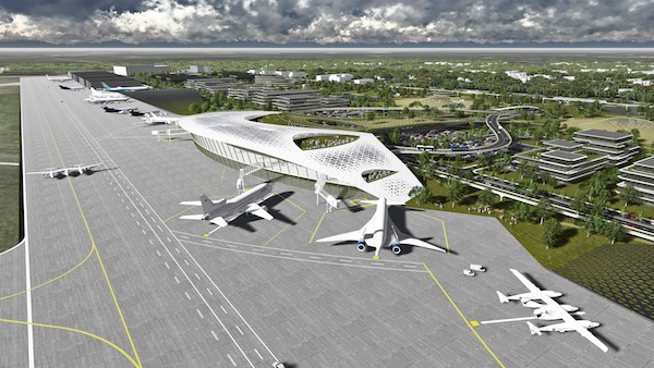 Spaceport planned for Ellington Airport