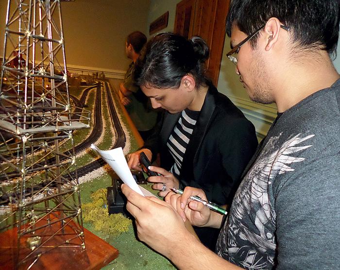 ITT students repair train at Tyra Ranch
