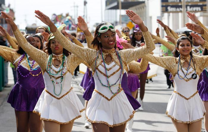 Mystic Krewe of Aquarius Kick-Off Parade