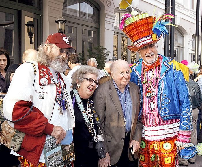 The Townsends, Mitchell and a Mummer