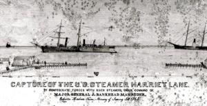 The Harriet Lane is captured