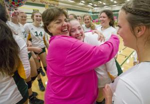 Anna Marie Milligan ends 40-year coaching career at Santa Fe with a win