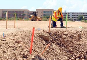 Crews begin work on 612-bed TAMUG dormitory