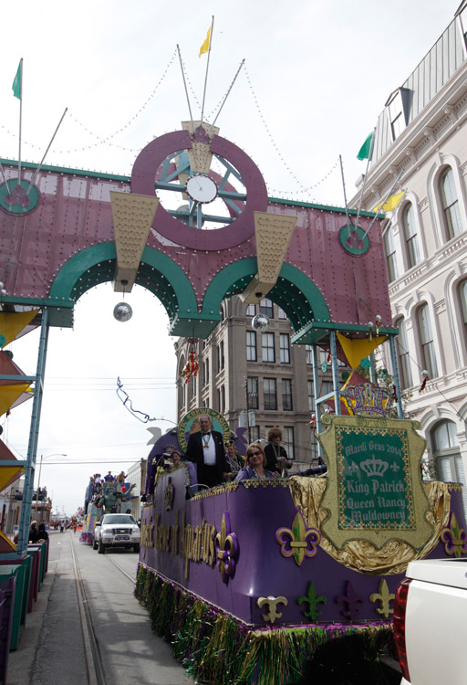 Mystic Krewe of Aquarius Kick-Off Parade