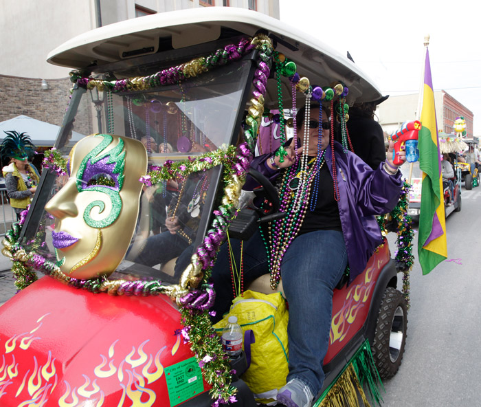 The Daily News' annual Zaniest Golf Cart and Art Car Parade