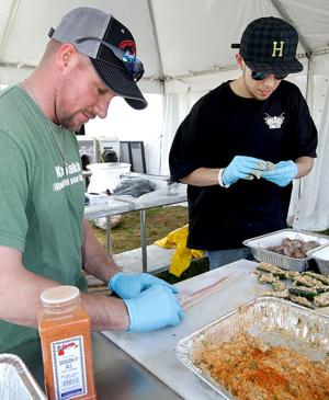 Galveston County Fair and Rodeo seafood cook-off