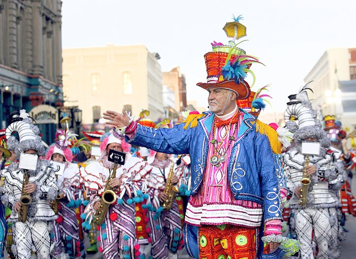 Mummers returning for Mardi Gras