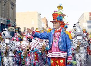 Mummers returning for Mardi Gras