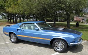 League City mayor takes part in Ford Mustang's 50th birthday party