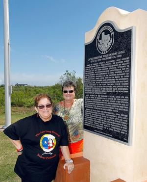 New monument in Bolivar honors Texas pioneer woman