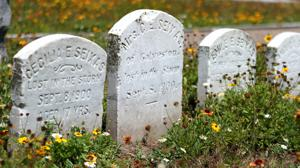 Texas City man is a student of cemeteries in county