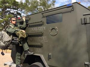 SWAT arrives as elderly woman holds husband hostage