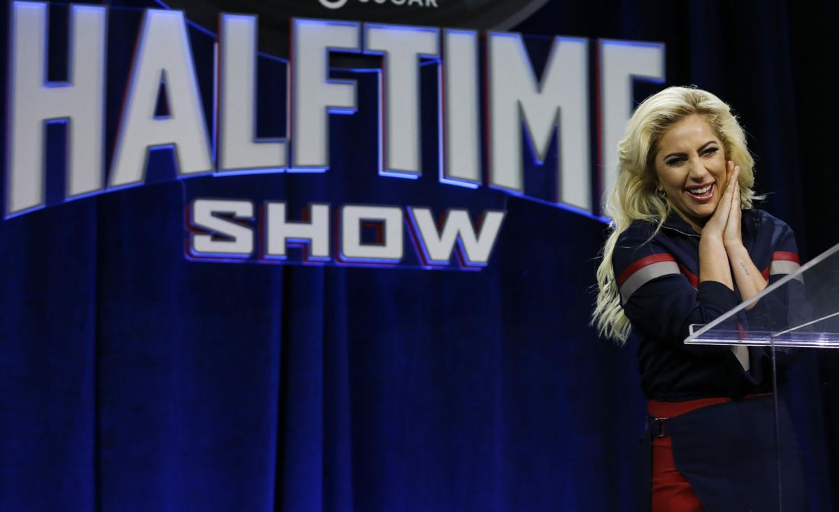 Lady Gaga at Super Bowl LI