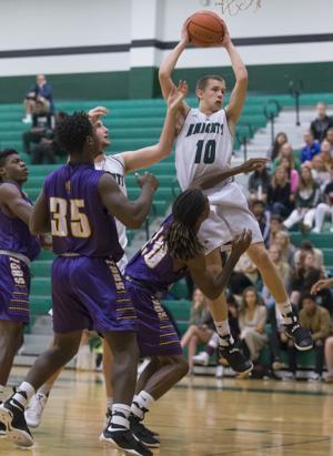 Clear Falls vs Ball High Boys Basketball