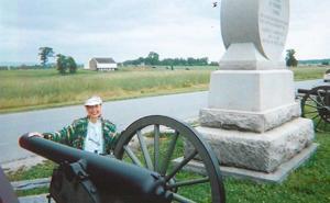 Visit to Gettysburg brings song lyrics to mind