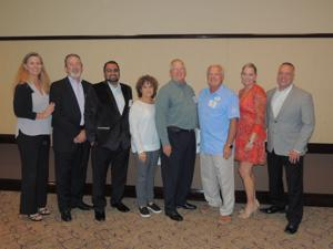 "<p>The Galveston Hotel and Lodging Association recently elected its new board of directors. Pictured, from left, are Kelly de Shaun, Member at Large; Steve Cunningham, Chair; Willis Gandhi, Second Vice Chair; Claire Reiswerg, Treasurer; William ""Buzz"" Elton, Member at Large; Ron Sutula, Member at Large; Theresa Elliott, Sergeant-at-Arms; and Paul Schultz, First Vice Chair. Not pictured are Mike Pistone, Member at Large and John Zendt, Member at Large. GHLA includes more than 100 hotels ranging from small family-owned properties to major convention hotels and allied business located across Galveston Island. For information, visit www.galvestonlodging.org.</p>"