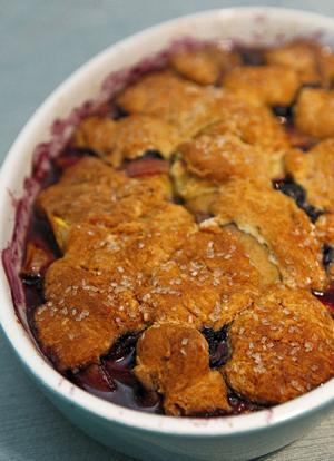Summer fruits are perfect for delicious cobblers