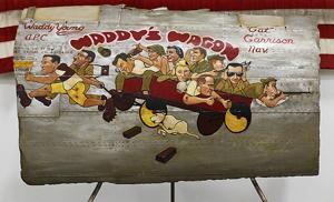 Waddy's Wagon up close