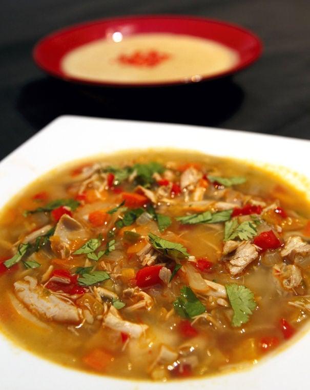 Hot Chicken Soup