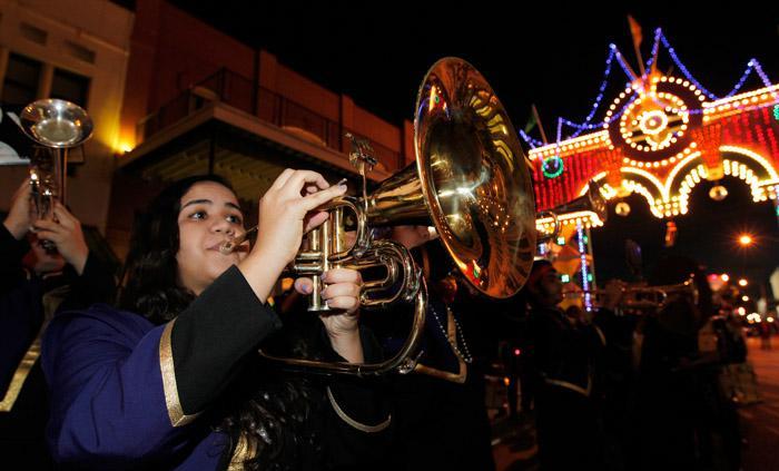 George P. Mitchell Mardi Gras Parade