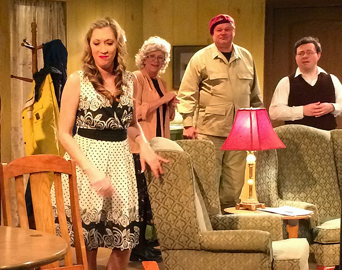 'The Foreigner' at the Creek Community Theatre
