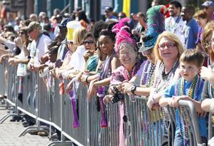 A busy Mardi Gras Galveston 2014