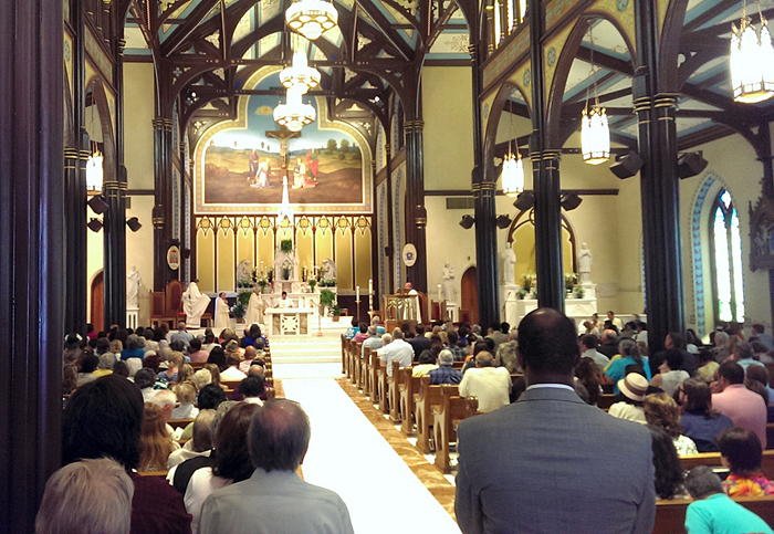 St. Mary's Basilica is back