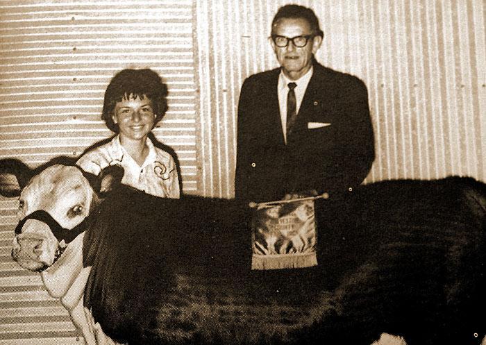 1962 Grand Champion Fat Steer