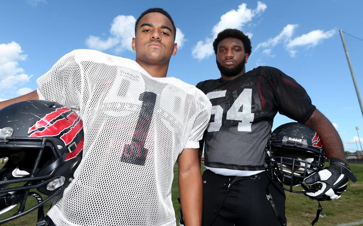 Clear Brook football players of the week