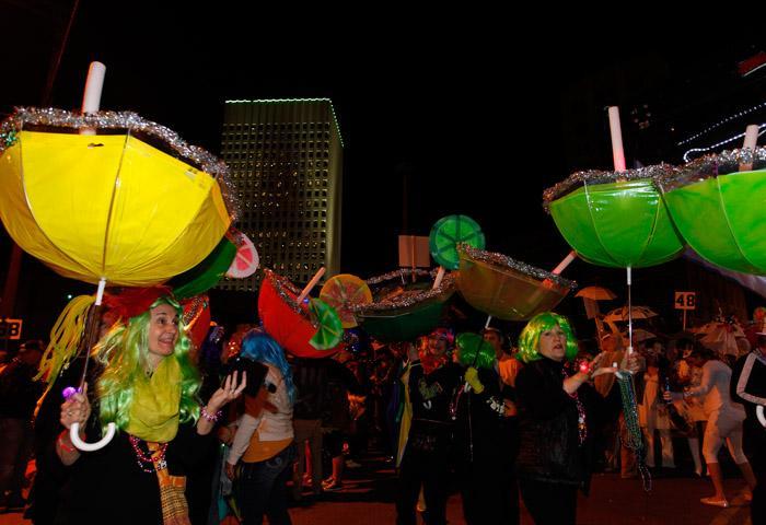 4th annual Funky Uptown Umbrella Brigade
