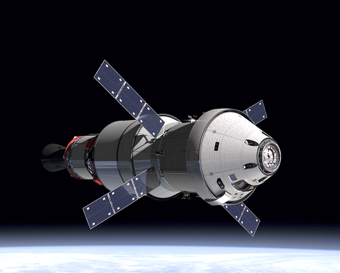 Orion spacecraft passes test