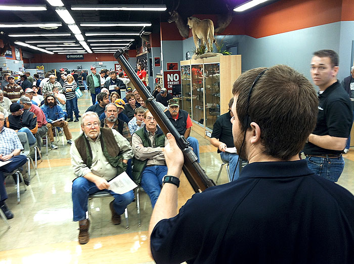The Arms Room gun auction