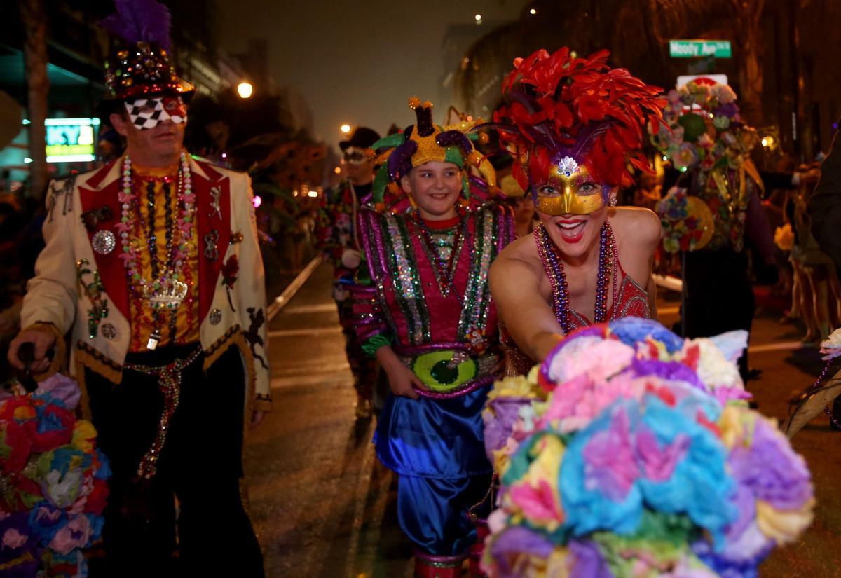 Mystic Krewe of Aquarius' Fat Tuesday Parade