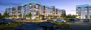Upscale multifamily living