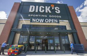 <p>Dick's Sporting Goods has opened near Baybrook Mall in Webster. The location is home to a 3-in-1 store concept and also houses a Field and Stream as well as a Golf Galaxy store connected internally to the Dick's location.</p>