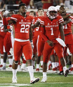 Photos: Houston vs. Tulsa football