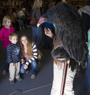 Greater Yellowstone Raptor Experience visits Rockpile Museum