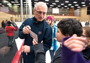 Olympic legend lends a hand