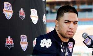 Notre Dame AD encouraging Te'o to speak publicly